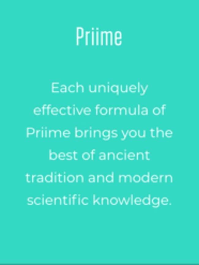 Priime info