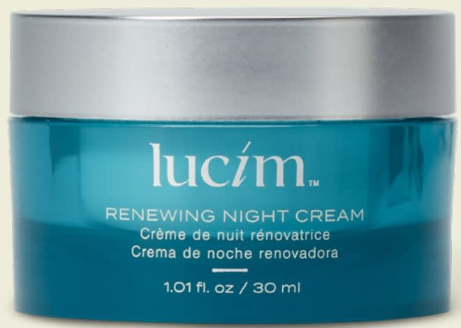 Renewing night cream