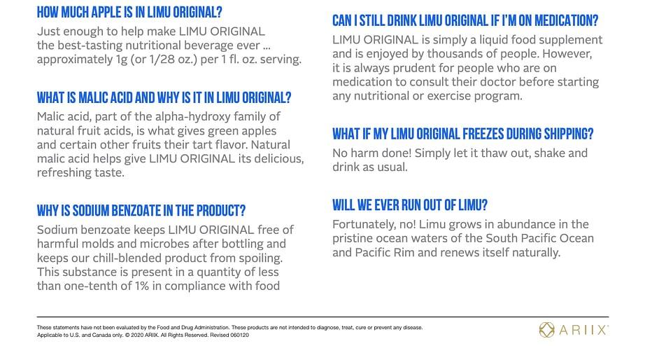 Limu original faq5