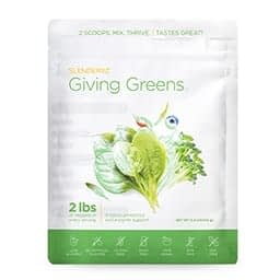 Slenderiiz Giving Greens
