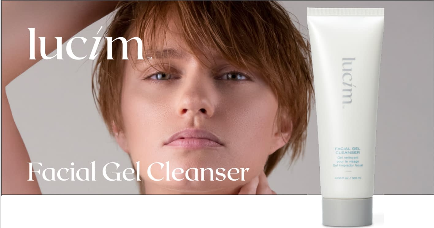 Facial Gel Cleanser Front Page